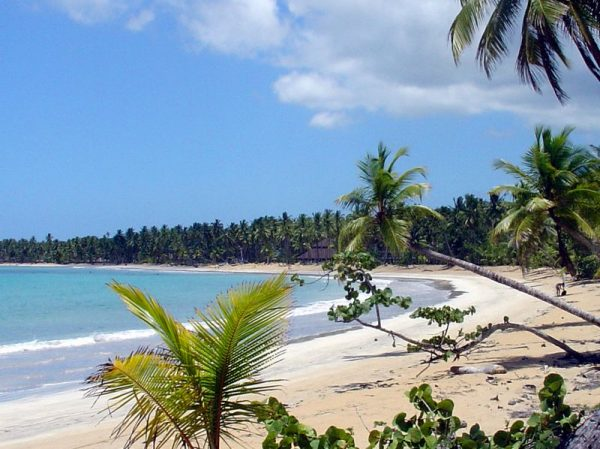 Belle plage de la République Dominicaine